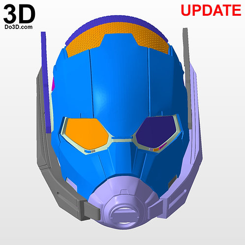 Ant-Man Helmet Civil War | 3D Model Project #742