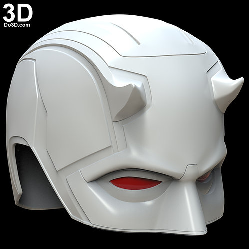 Daredevil Helmet Mask, Cowl | 3D Model Project #498