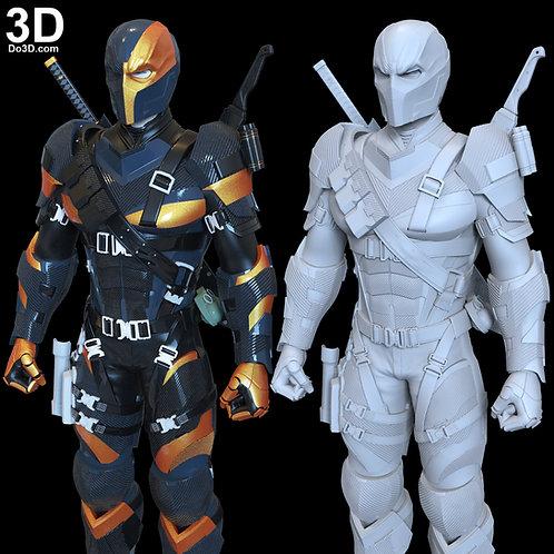 Deathstroke Justice League Costume Armor Suit | 3D Printable Model #DJ292