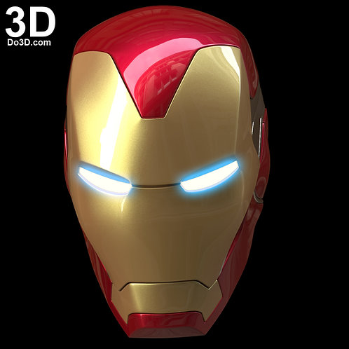 IRON MAN MARK LXXXV Helmet MK 85 Endgame Version | 3D Model Project #5742