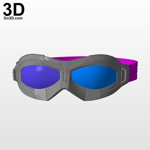 3D Printable Model: Falcon Goggles | File Format STL #FL441