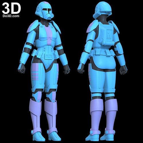 Republic Trooper Armor Star Wars The Old Republic | 3D Model Project #6543