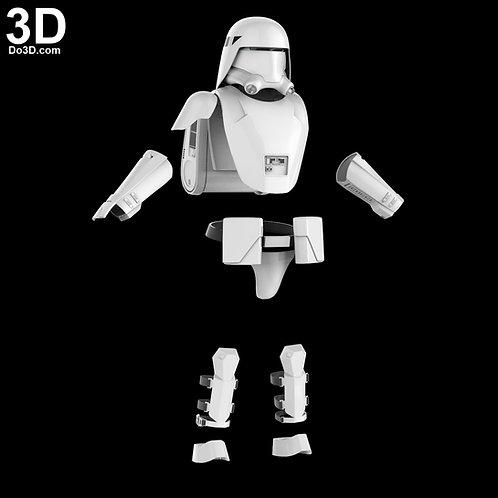 Snowtrooper Helmet + Armor Star Wars  | 3D Model Project #31