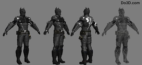 Arkham Knight Armor Suit | 3D Model Project #26