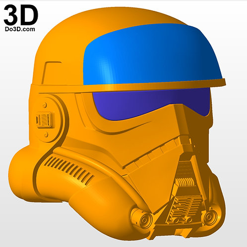 Imperial Patrol Trooper Helmet Star Wars | 3D Printable Model Project #4573