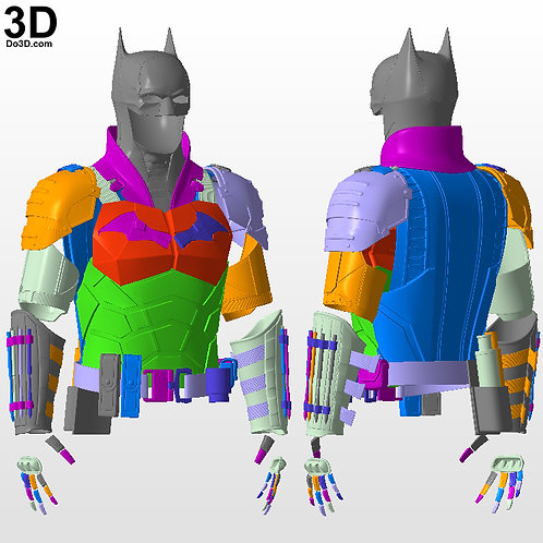Batman 2022 Batsuit Robert Pattinson | 3D Printable Model STL File #B22
