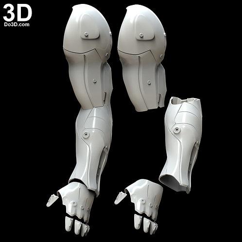 Destiny 2 Aeon Swift Exotic Gauntlets Arm | 3D Model Project #4331