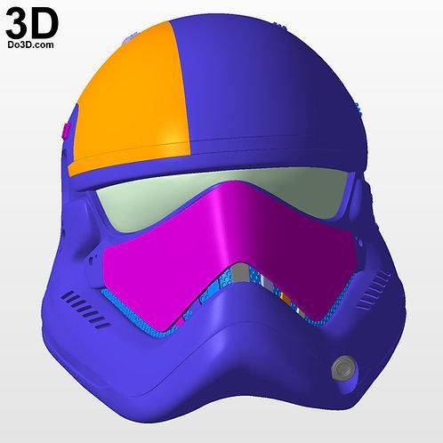 Stormtrooper First Order Star Wars Last Jedi Helmet, 3D Model Project #3939