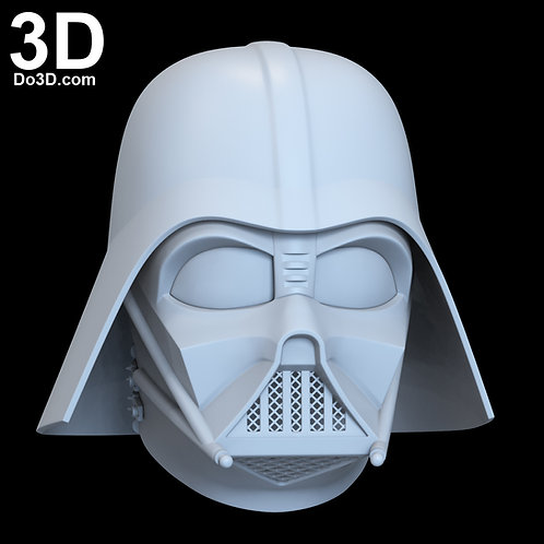 Classic Darth Vader Star Wars Helmet w/ Dome + Neck Strap|3D Model Project #6705