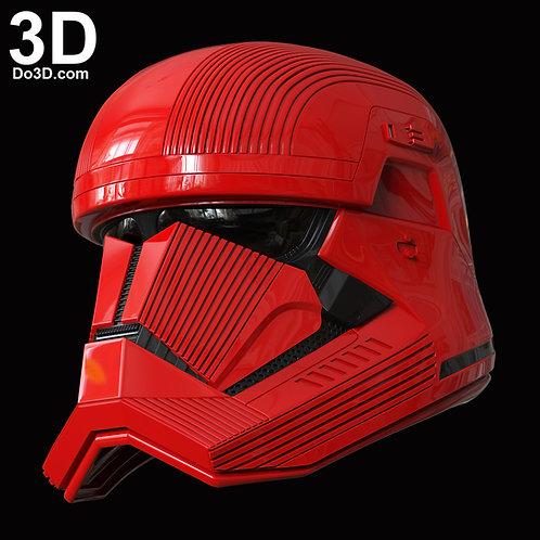Sith Trooper Helmet Star Wars: The Rise of Skywalker | 3D Model Project #6022
