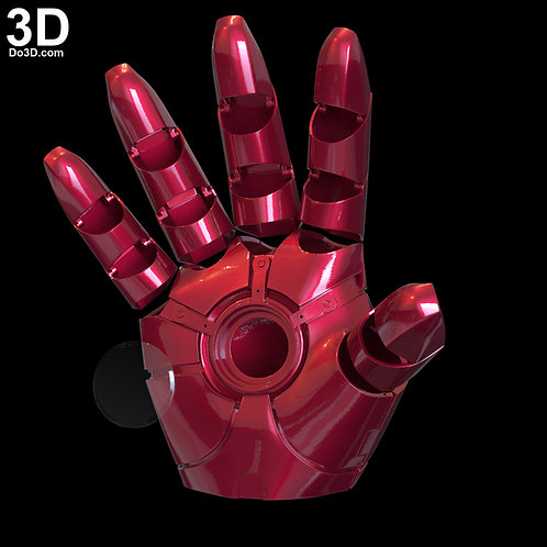 Iron Man MK 46 Glove with Hinges V2 | 3D Model Project #6569