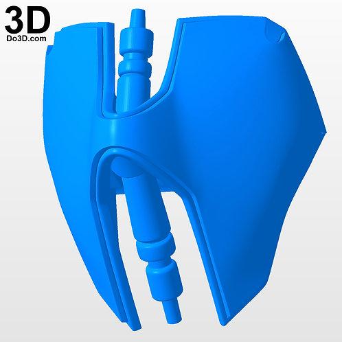 Boba Fett Kai Variant Shoulder Armor   3D Model Project #N-39