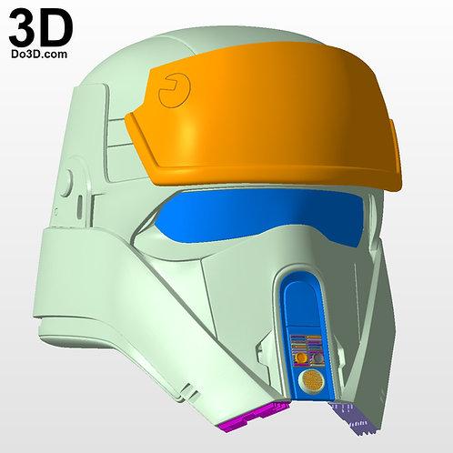 Shoretrooper Scarif Stormtrooper Helmet Star Wars  | 3D Print Model Project #950