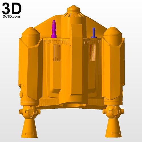 Mandalorian Dyn Jarren (Din Djarin) RP Jetpack 3D Model Project #N31-1