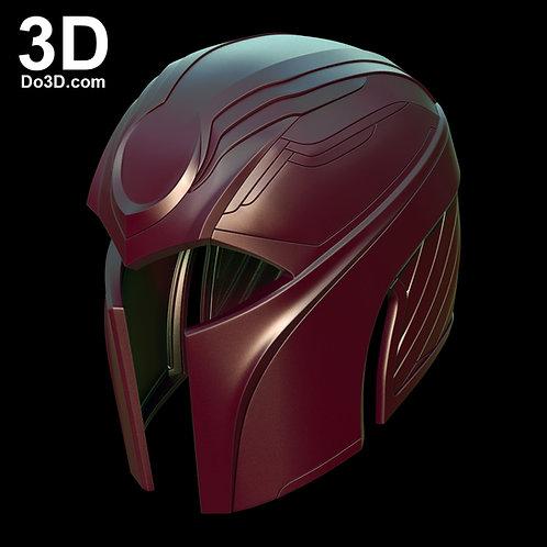 X-Men Apocalypse Magneto Helmet | 3D Model Project #882