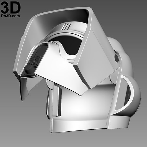 Scout Trooper Biker Scouts helmet Star Wars | 3D Model Project #1155