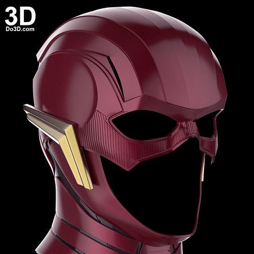 Flash Justice League Helmet Ezra Miller Cowl | 3D Model Project #1264