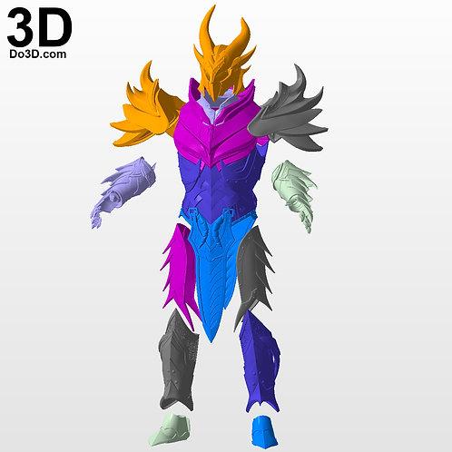 Daedric Helmet and Armor Skyrim Elder Scrolls Online ESO, 3D Project #2874