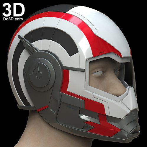 Avengers Team Time Travel Quantum Helmet Endgame 3D Print Model Project #5867