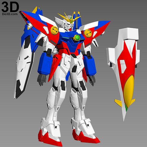 XXXG-00W0 Gundam Wing Zero Full Body Armor | 3D Model Project #3792