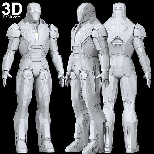 Iron Man Shotgun Mark XL MK 40 Armor | 3D Model Project #6552
