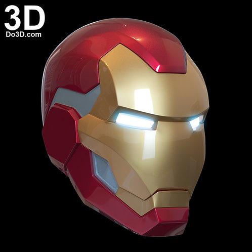 Iron Man Fortnite Helmet Stark Industries Skin | 3D Printable Model #FT10