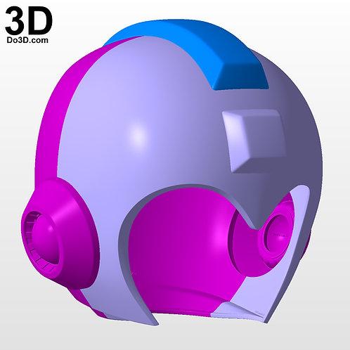Mega Man Classic Original Helmet | 3D Model Project #5376