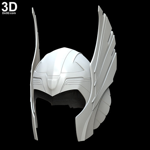 Thor 2011 Original Classic Helmet | 3D Model Project #390