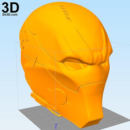Arkham Knight Helmet Concept Red Hood Variant | 3D Model Project #2120