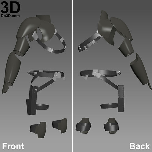 Agent Kanan Jarrus Full Body Armors Star Wars Rebels | 3D Model Project #965