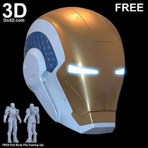 Iron Man Mark XXXIX Gemini Armor MK 39 Starboost | 3D Model Project #37
