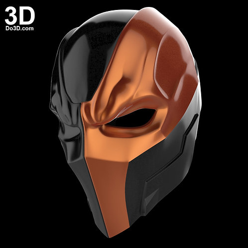 Deathstroke Justice League Helmet Mask, Cowl | 3D Model Project #1315