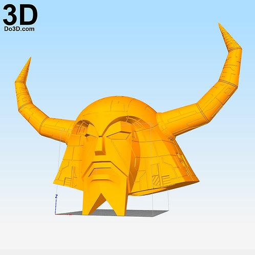 Unicron Transformers Universe Helmet Head | 3D Model Project #2042