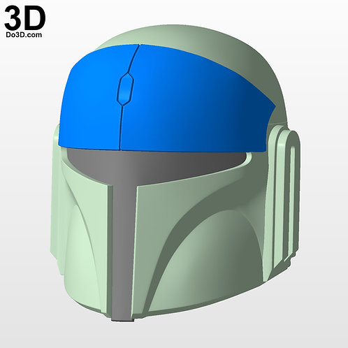 Mando Pilot Star Wars Rebels Strike Missions Helmet  | 3D Printable Model  #M001