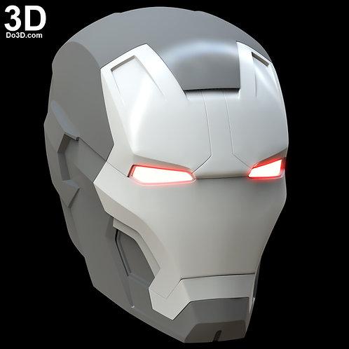 Iron Man Mark XLII / XLIII MK 42 / 43 Premium Helmet | 3D Model Project #5032