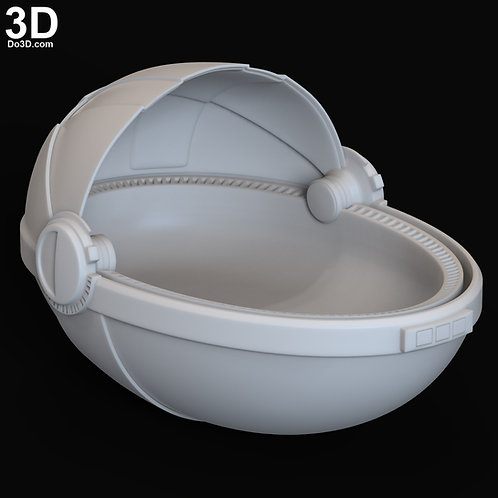 The Child Baby Yoda Crib Basket from Mandalorian | 3D Printable Model #6328