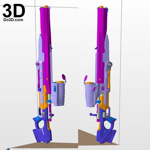 Gears Of War GOW Longshot Sniper Rifle Blaster | 3D Model Project #2217