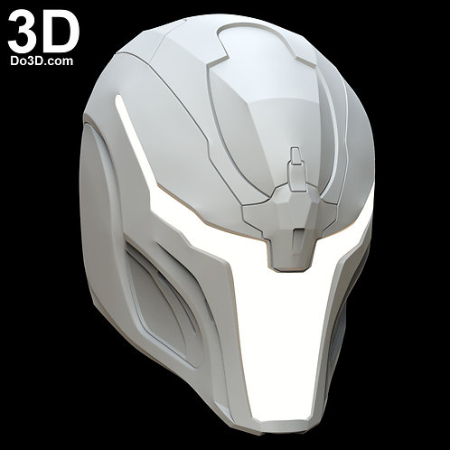 Sci-fi Robot Variant Helmet Do3D 002 | 3D Model Project #6075