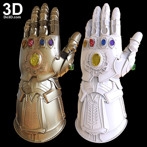 Thanos Infinity Gauntlet Forearm & Glove D23 | 3D Model Project #3944