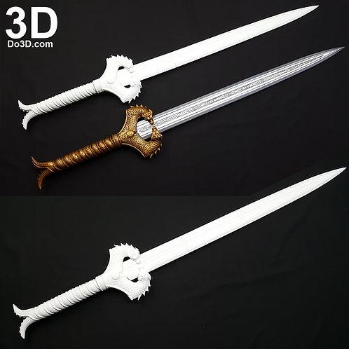 New Wonder Woman God Killer Sword | 3D Model Project #2314-1