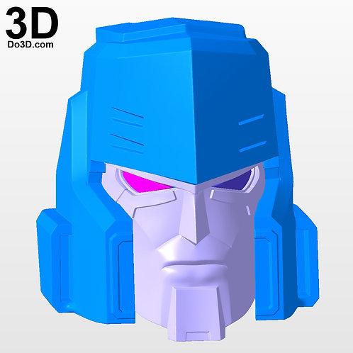 Megatron Helmet Transformers More Than Meets The Eye | 3D Printable Model #3008