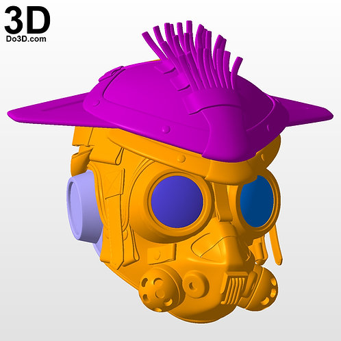 Bloodhound Apex Legends Helmet | 3D Model Project #5764