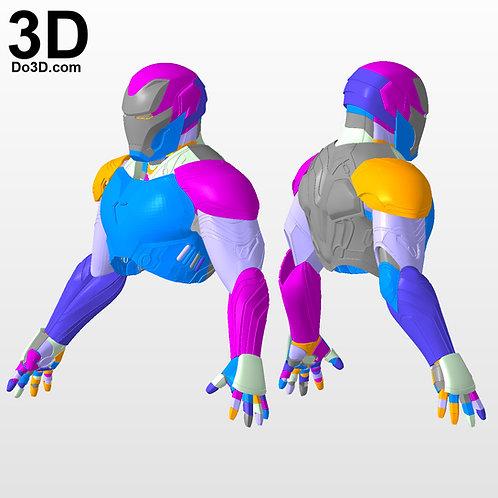 Iron Man Mark XLVIII MK 48 Upper Body Armor | 3D Model Project #2969