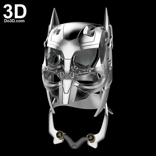 Batman Tech Cowl Helmet BVS   3D Model Project #1520