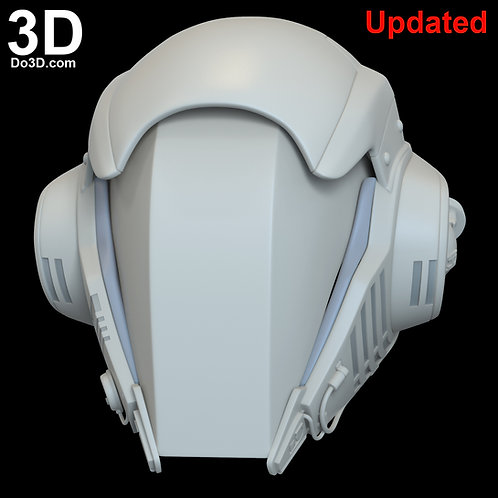 Rey's Training Helmet Star Wars Rey and D-O  | 3D Printable Model Project #6344