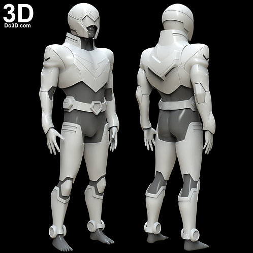 Paladin Voltron Netflix Full Armor with Helmet | 3D Printable Model #5222