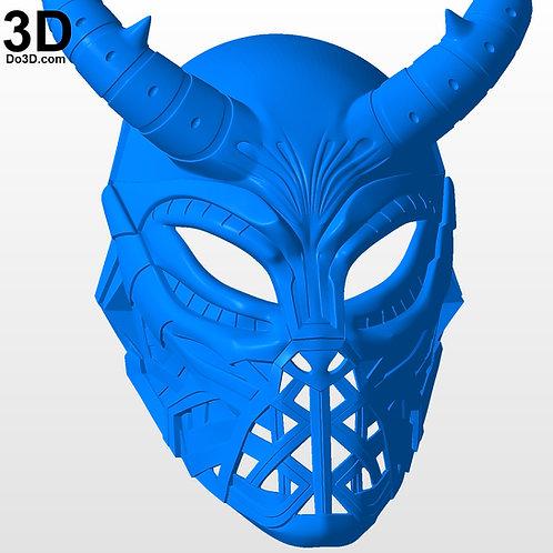 Erik Killmonger Museum Helmet / Tribal Mask | 3D Printable Model Project #3543