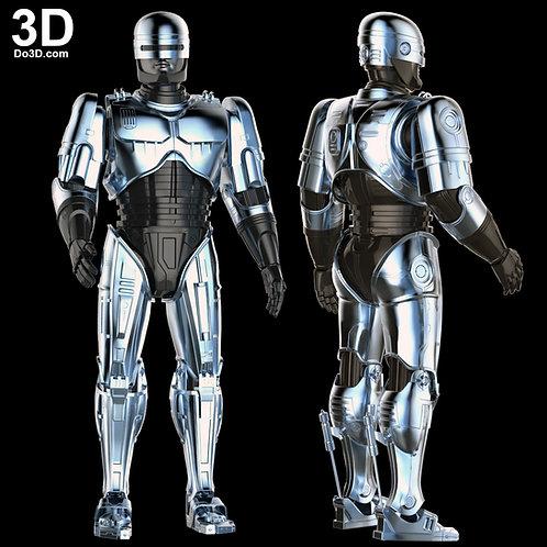 RoboCop Classic Armor Suit 1987 Film   3D Model Project #592