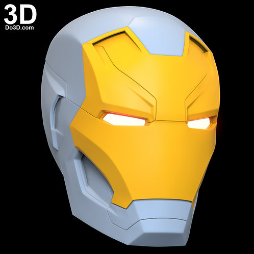 Mark XLVI XLVII Helmet Iron Man MK 46 47 Premium | 3D Printable Model #5224
