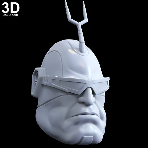 Krang Android Helmet Mask Teenage Mutant Ninja Turtles | 3D Printable Mode #5245